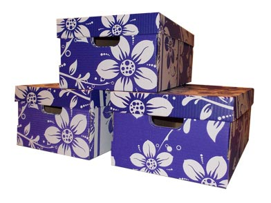 3 aufbewahrungsbox aufbewahrungskartons pappkartons umzugskartons mit deckel ebay. Black Bedroom Furniture Sets. Home Design Ideas